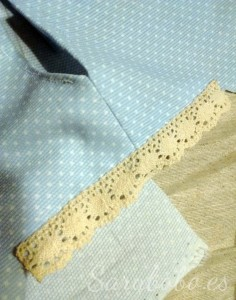 Costura de las mangas
