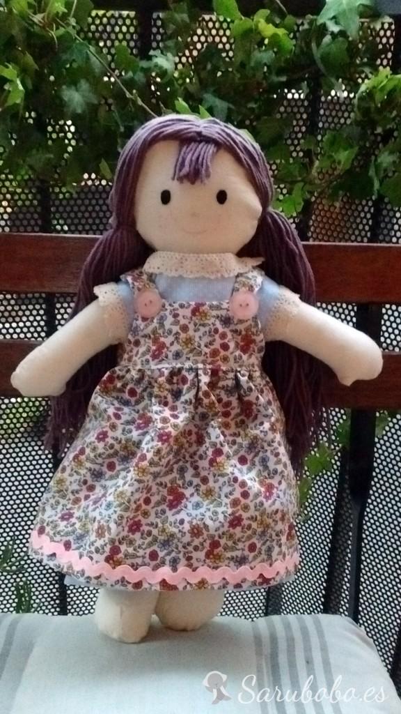 Tutorial delantal para muñeca.