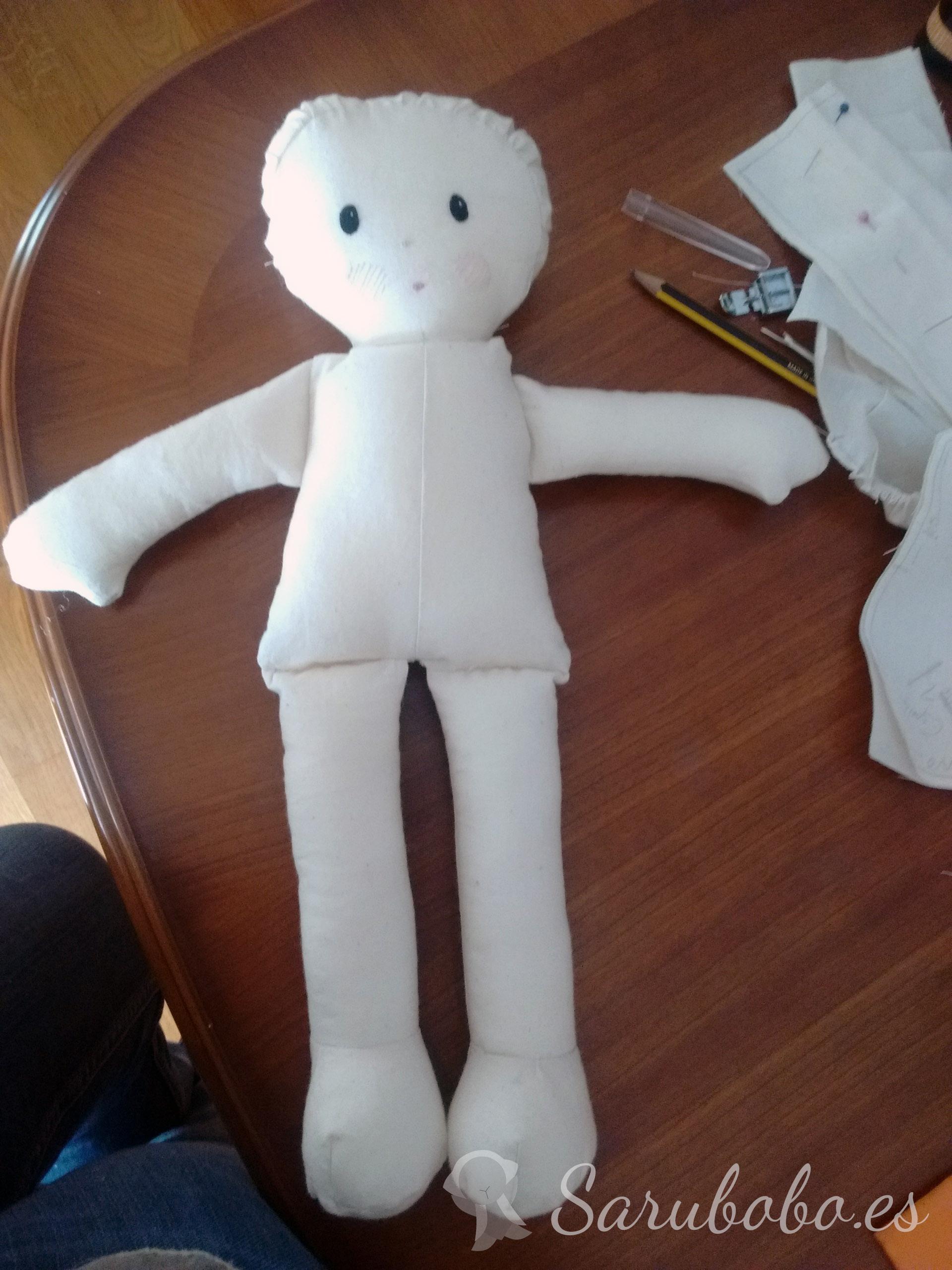 Cómo hacer muñecas de trapo. Tutorial   Sarubobo