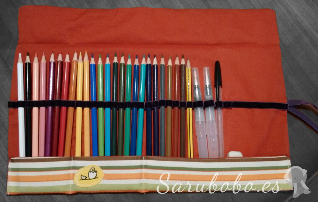 DIY Un estuche enrollable